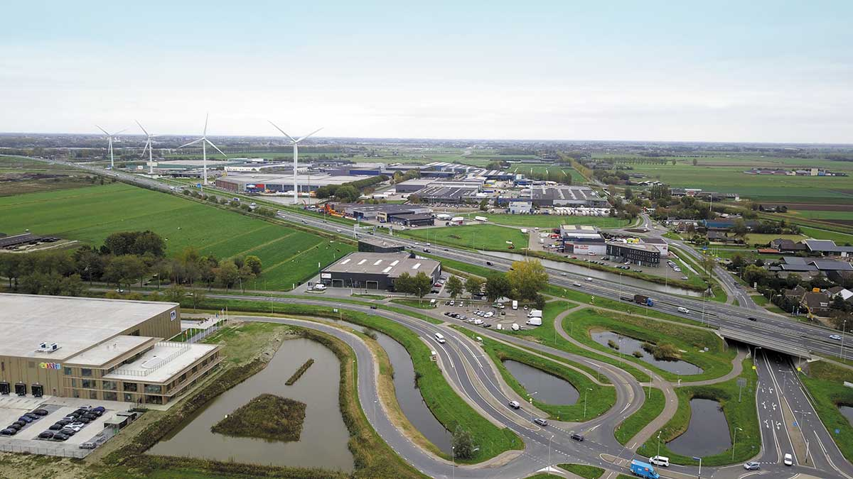 Dronefoto Waddinxveen