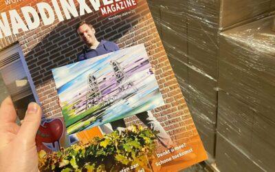 Het magazine 'Wonen, Winkelen, Werken in Waddinxveen' in een nieuw jasje!
