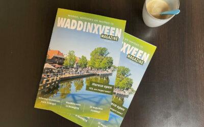 De voorjaarsuitgave van 'Wonen, Winkelen, Werken in Waddinxveen'